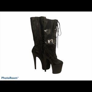 Pleaser - Platform Stiletto Heel Boots
